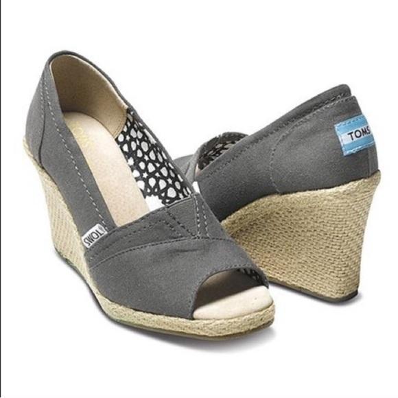 Toms Calypso Wedge Heel Color Ash
